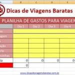Como fazer uma Planilha de Gastos para Viagens (FÁCIL)